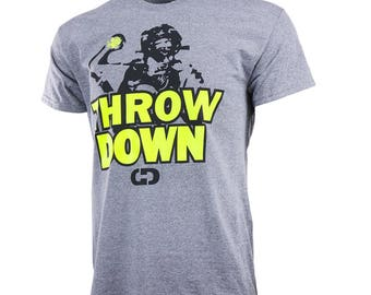 Throw Down Short Sleeve Shirt, Fastpitch Softball Shirt, Softball Gift - Free Shipping!