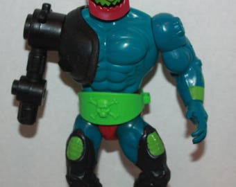 Masters of the Universe MOTU Evil Warriors Trapjaw Action Figure Red Armor