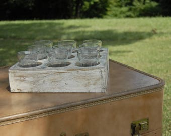 9 Hole Drink Tray