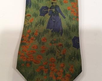 IMPRESSIONIST ARTIST Tie