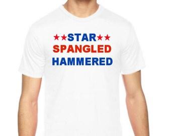 Personalized T-Shirt, Patriotic T-Shirt, Americana T-Shirt Top, 4th of July T-Shirt