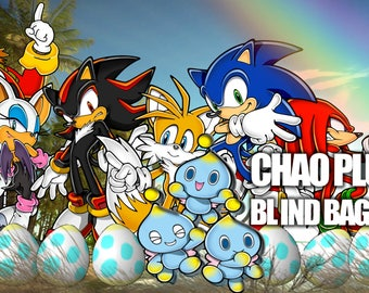 Chao Plush BLIND BAGS Sonic the Hedghog Sega Dreamcast