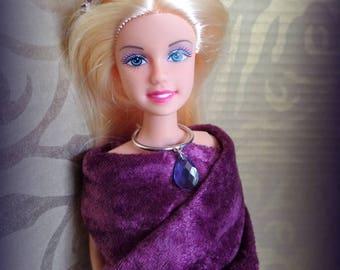 Reduced sale ~ Jewel doll dollhouse crown tiara headband, renaissance doll headband, Barbie and friends headband, small head crown,