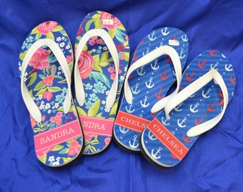 Women's Personalized Flip-Flops