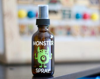 Monster Spray (available in green or pink)