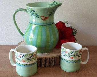 Ceramic Pitcher By Gail Pittman Siena Southern Living Made in the USA