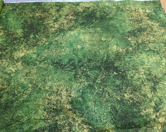Stonehenge-Green Cotton Fabric from Northcott