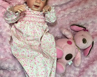 "Reborn Baby Girl ""Olive"" by Believable Babies for People with Dementia and Alzheimer's- Doll Therapy for Memory Care"