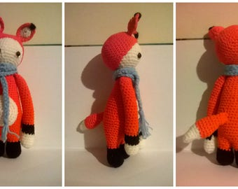 Small doll dressed as Fox, Fox