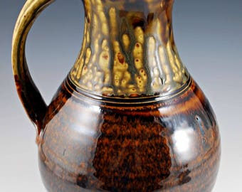 Honey Ash and Chocolate Pitcher