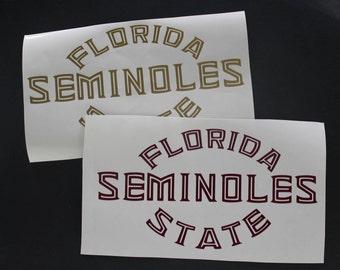 Florida State Seminoles Decal