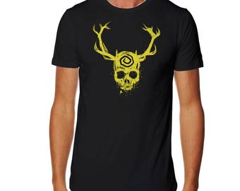 The Yellow King - Black T-Shirt - Detective T-shirt - True T-shirt - Yellow King Shirt - Marty Tshirt - Hart T-shirt - TV Show T-shirt