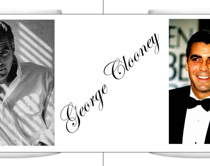 George Clooney Mug a perfect gift