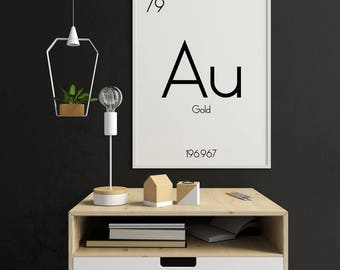 Periodic Table Wall Art, Periodic Table Of Elements Poster, Periodic Table Of Elements Print, Periodic Table Poster, Periodic Table Gifts