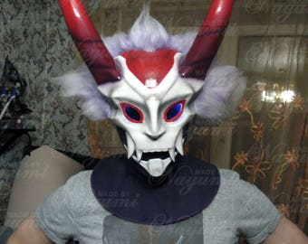 Blood Moon Tresh Mask - League of Legends cosplay
