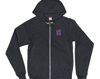 Nudist / Urban, Contemporary, Simple, Logo / Unisex Graphic Hoodie sweater