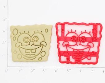 Spongebob Cookie Cutter Spongebob Birthday Spongebob  Party Spongebob  Baby Show Spongebob  Cupcake Spongebob  Gift