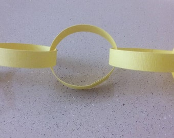Yellow Paper Chains