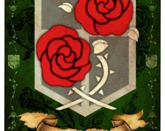 AOT banner, Garrison (ornate)