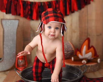 Baby Leggings - Toddler Leggings -  - Buffalo plaid leggings - Baby Clothes - Buffalo Plaid Pants - Lumberjack -(preordeR)