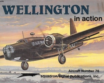 Wellington in Action Squadron Signal Aircraft No. 76