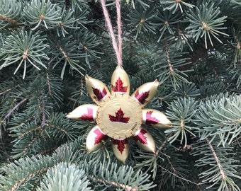 Molson Canadian beer cap ornament