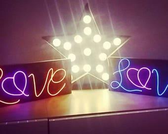 Neon Love Sign