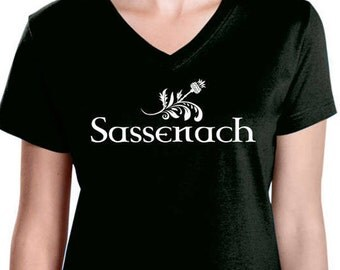 Sassenach Thistle t-shirt