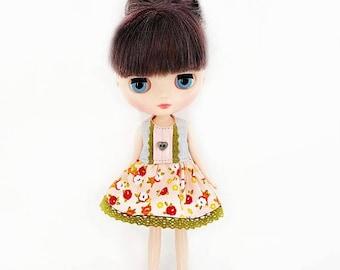 Middie Blythe Dress - Middie Blythe lace dress - Middle Blythe garden dress - Middie Blythe doll clothes - Takara Middie Blythe Clothing