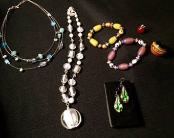 Jewelry Lot: Through the Looking Glass