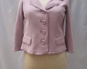 MOSCHINO CHEAP and CHIC vintage 90s pink summer jacket