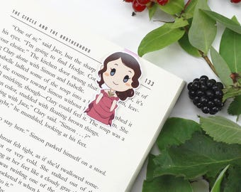 Tessa Gray - Magnetic bookmark - Shadowhunter || infernal devices, book lover gifts, cassandra clare, clockwork angel, bookish