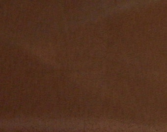 Vintage Brown Barkcloth Bark Cloth Fabric, COORDINATES with our Western Cowboy Barkcloth, Horses, Cowboys, NOS, Salesman Sample with Tag