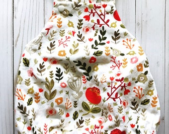 Baby Girl Romper / Sweet Mod Floral
