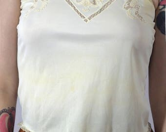 Slice Of Heaven White Lace Cami Top