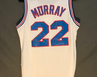 Bill Murray Space Jam TuneSquad Jersey Stitched #22 (ALL ADULT SIZES!)