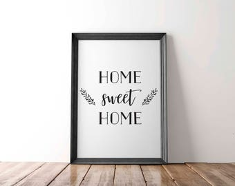 Home Sweet Home - Digital Print, Poster
