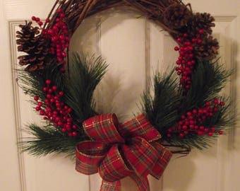 """16"""" grapevine wreath"""