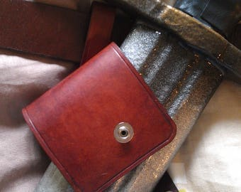 LARP right / left leather scabbard for latex swords FAST OPENING ! perfect for scimitars or sabers