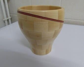 Little wooden Pot
