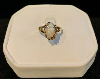 Vintage Natural Pearl Ring VRW-51