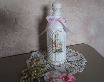 the old Shabby chic style bottles