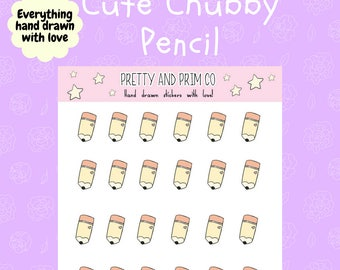 Cute Chubby Pencil