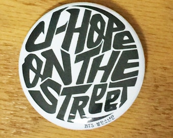 J-HOPE On the Street-BTS-2.25 inch Pinback Button