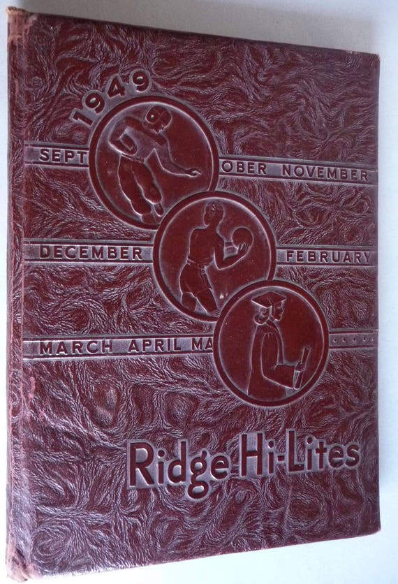 Elder Ridge High School Yearbook (Annual) 1949 - Ridge Hi-Lites Edri, Pennsylvania PA Erie County