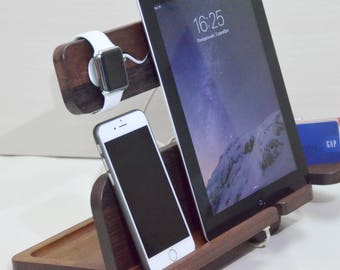 sale christmas gift charging station apple watch docking station iphone stand ipad stand - Iphone Charging Station