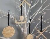 Vikings Ornament Set