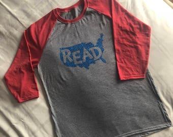 Read Across America Shirt, Teacher Shirt, Reading Shirt, United States Read, Dr. Seuss Shirt