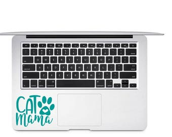 Cat Decal, Cat Mama Decal, Cat Lover Gift, Animal Lover Gift, Kitty Decal, Fur Mama Gift, Cat Home Decal, Pet Lover Gift, Cat Laptop Decals