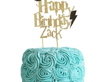 Harry Potter Cake Topper Etsy